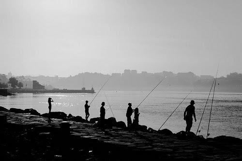 Secular Serenity Fishing